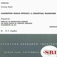 scan cover of 1962 report on Augmenting Human Intellect