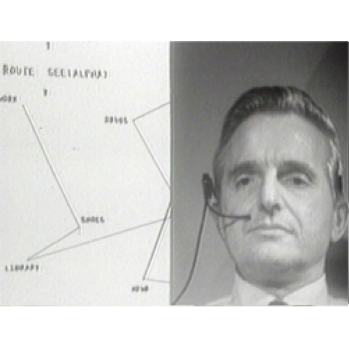 screenshot of Doug 1968 using hypermedia